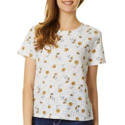 Wallflower Juniors Daisy Eyelet Top