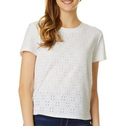 Wallflower Juniors Eyelet Top