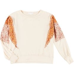 CoCo & Jaimeson Juniors Floral Patch Sweater