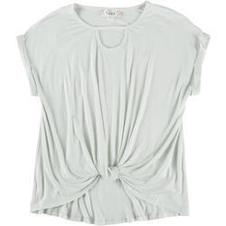 Juniors Short Sleeve Top