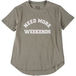 Modern Lux Juniors Need More Weekends T-Shirt