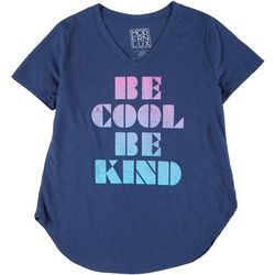 Modern Lux Juniors Be Cool Be Kind T-Shirt