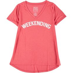 Modern Lux Juniors Weekending T-Shirt
