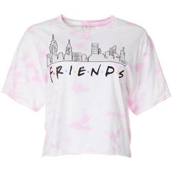 Juniors Friends Skyline Logo Cropped T-Shirt