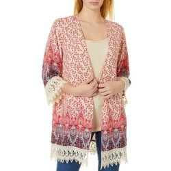 Be Bop Juniors Paisley Print Kimono