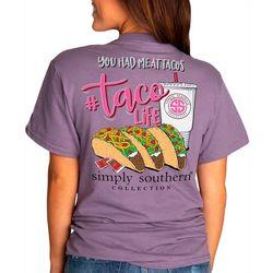 Simply Southern Juniors Taco Life T-Shirt