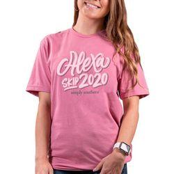 Juniors Short Sleeve Vintage Alexa T-Shirt