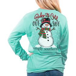 Simply Southern Juniors Baby Its Cold Outside T-Shirt