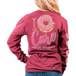 Simply Southern Juniors Long Sleeve Care T-Shirt