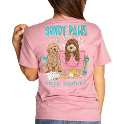 Simply Southern Juniors Sandy Paws T-Shirt