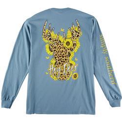 Juniors Hey Deer T-Shirt