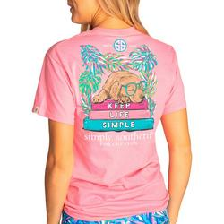 Juniors Keep Life Simple Dog T-Shirt