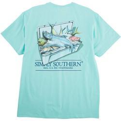 Juniors Fish In A Cooler T-Shirt