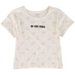 Messy Buns, Lazy Days Juniors No Bad Vibes Top
