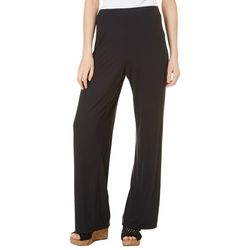 Thyme & Honey Womens Solid Pull On Pants