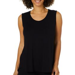 Coco's Clozet Womens Sleeveless Solid Top