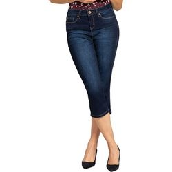 Royalty by YMI Womens No Muffin Top Skinny Denim Capris