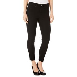 Royalty by YMI Womens Solid Hyper-Stretch Ankle Jeans