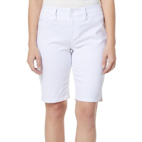 69a34c37e8 Royalty by YMI Womens Tummy Control Denim Bermuda Shorts | Bealls ...