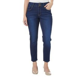 Royalty by YMI Womens No Muffin Top Skinny Denim Jeans