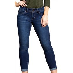 Royalty by YMI Womens Basic Double Button Jeans