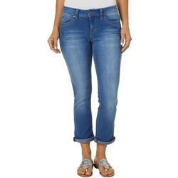 Royalty by YMI Womens Mid Rise Straight Jeans