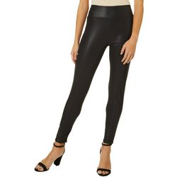 Maze Womens Faux Leather Leggings