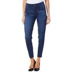 Truth & Theory Womens Skinny Stretch Denim Jeans