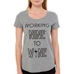 Mic & Jax Womens Working Nine To Wine