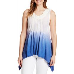Vintage America Womens Amelia Sleeveless Ombre Top