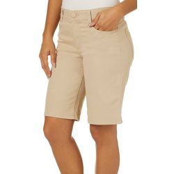 Vintage America Womens Fab Twill Bermuda Shorts