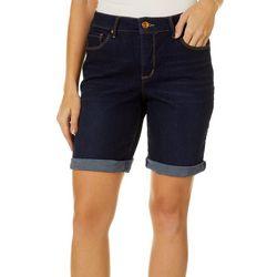 Vintage America Womens 24/7 Heaven Boho Bermuda Shorts
