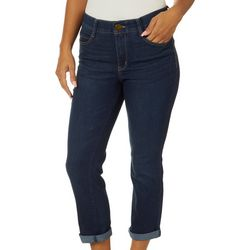 Vintage America Womens Fab Body Sculpt Ankle Jeans