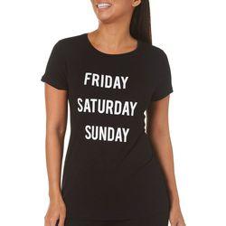 Philosophy Womens Weekend T-Shirt