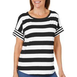 Workshop Womens Mixed Striped T-Shirt