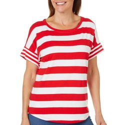 Workshop Womens Mixed Striped T-Shirt