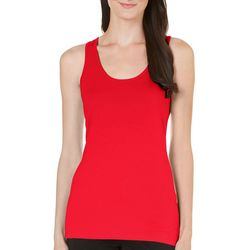 Allison Brittney Womens Knit Solid Tank Top