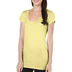 Allison Brittney Womens Classic Solid T-Shirt