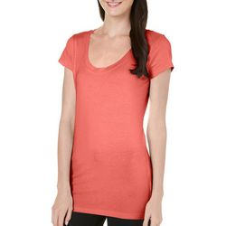 Allison Brittney Womens Classic Solid T-Shirt
