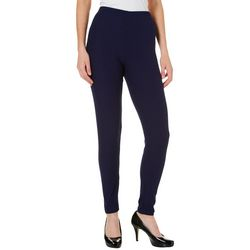 Allison Brittney Womens Classic Solid Leggings