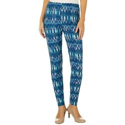 Allison Brittney Womens Ikat Print Leggings