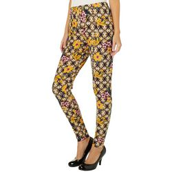 Allison Brittney Womens Floral Print Leggings