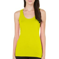 Allison Brittney Womens Solid Knit Tank Top