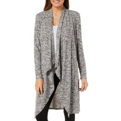 Harlow and Rose Womens Heathered Longline Cardigan
