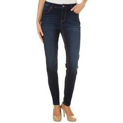 Curve Appeal Womens High Waist Skinny Jeans