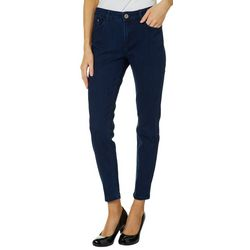 C&C California Womens Mid Rise Denim Skinny Jeans