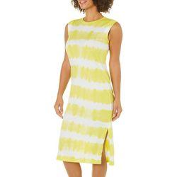 C&C California Womens Tie Dye Midi Sundress