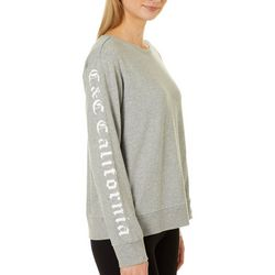 C&C California Womens Solid Pullover Sweatshirt