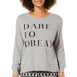 C&C California Womens Dare To Dream Fleece Sweatshirt