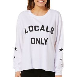 C&C California Womens Locals Only Pullover Sweatshirt